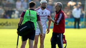 Joe Canning was substituted near the end at Wexford Park