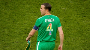O'Shea signed off from his international career on a winning note