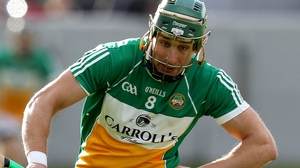 David King in action for Offaly