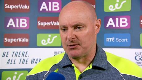 """Malachy O'Rourke: """"We didn't play well"""" 