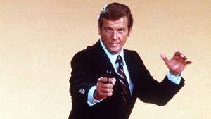 Roger Moore played The Saint in the original TV series