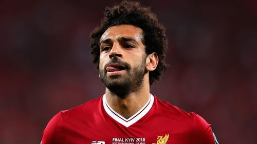 Mohamed Salah is battling to make it to Russia