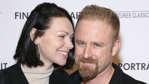 "Laura Prepon and Ben Foster - Thanked people for ""all the love and support"""