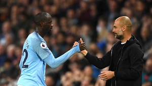 Yaya Toure has been critical of Pep Guardiola since his departure from Manchester City