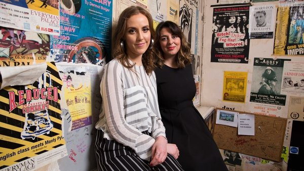 Writer Louise O'Neill and Everyman Artistic Director Julie Kelleher