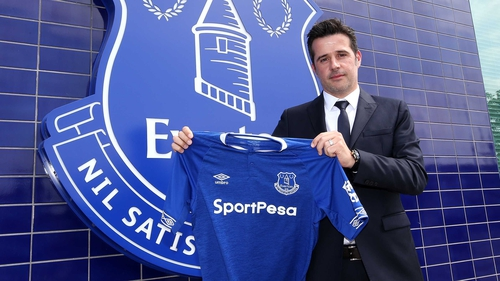 Marco Silva: 'I know what is behind me and what the fans expect from our team.'