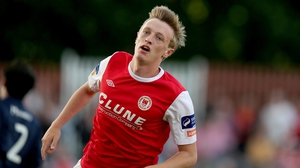 Forrester previously starred for St Patrick's Athletic.
