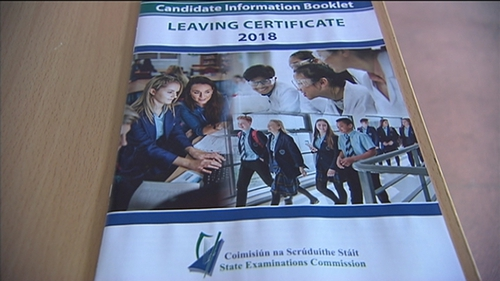 More than 55,000 students began their Leaving Certificate exams today