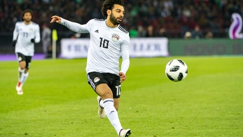 Mohamed Salah will start in Egypt's World Cup opener