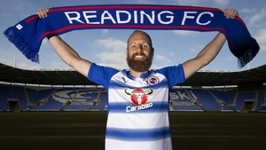 David Meyler: 'I want to get this club promoted.' Photo: Reading FC