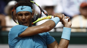 Rafa Nadal is a set down