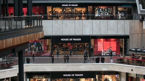 House of Fraser has 6,000 employees and 11,500 concession staff
