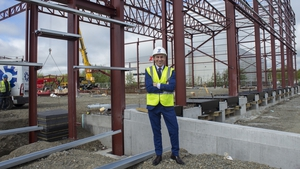 Brian O'Sullivan, Managing Director of Zeus, at the company's new premises in Bedfordshire in England