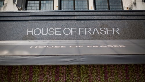 Sports Direct le House of Fraser a cheannach ar £90m