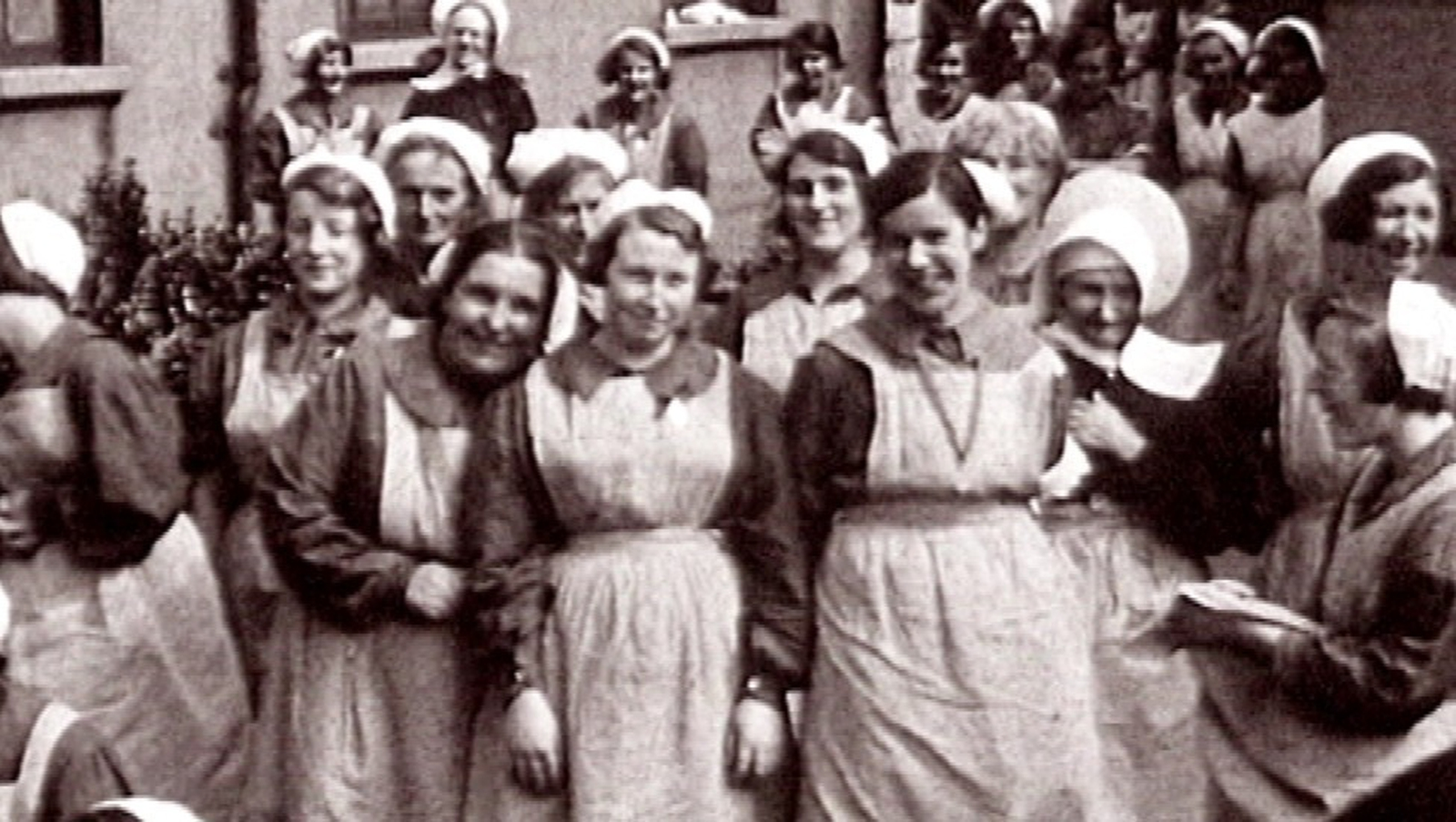 Image - A photo from a Magdalene Laundry (Credit IFI)