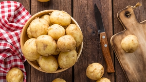 Clodagh McKenna's Creamy Garlic Potatoes