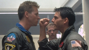 Kilmer and Cruise - Back onscreen as the best of frenemies in Top Gun: Maverick