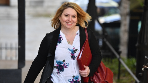 Karen Bradley spoke about the court's decision in the House of Commons