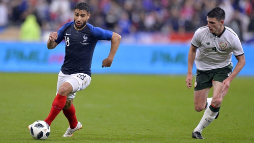 Nabil Fekir in action against the Republic of Ireland last month