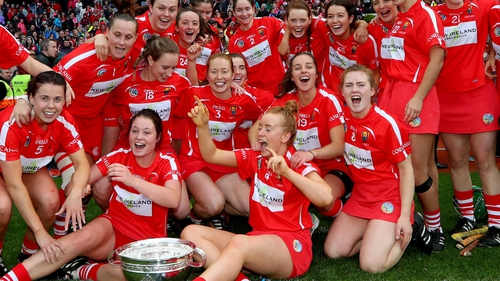 Cork edged Kilkenny in a cracking All-Ireland Camogie Championship final last year