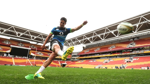 Joey Carbery starts at out-half in Ireland's opening test against Australia in Brisbane