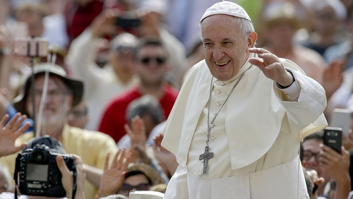 Pope Francis is scheduled to arrive in Dublin on Saturday 25 August