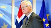 Michel Barnier said only live animals, animal-derived goods and food products would need to undergo physical checks at ports post-Brexit