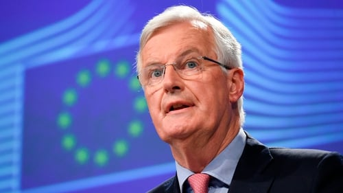 Michel Barnier warned the UK that the time had come to 'take decisions and make choices'