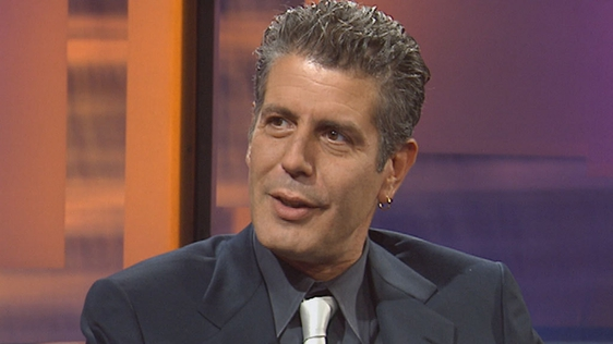 Anthony Bourdain on The Late Late Show (2002)