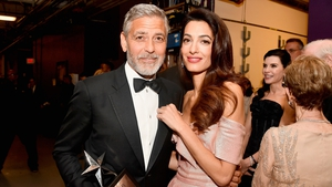 George and Amal Clooney: working holiday for George
