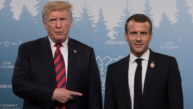 Trump joins Macron and world leaders at armistice ceremony