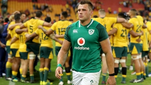 CJ Stander cuts a dejected figure at the end of the 18-9 defeat