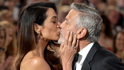 George Clooney moved to tears by Amal's emotional speech as he collected lifetime achievement award