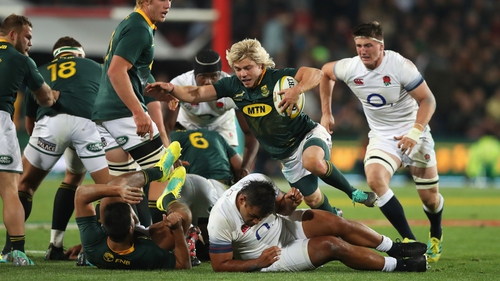 Boks played on England's altitude issue