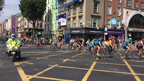 The Dublin Cycling Campaign has said it will hold protests every month until progress is made