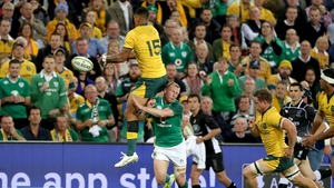 Ireland edged the second Test against Australia 26-21 in Melbourne on Saturday