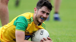 Ryan McHugh scored two points in the 2-22 to 1-12 win over Down in the Ulster SFC semi-final