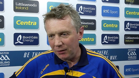 """Donal Moloney """"didn't see Reidy incident""""   The Sunday Game"""