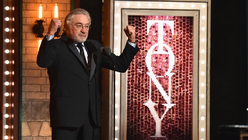 Robert De Niro Uses Profanity to Condemn Trump During Tony Awards