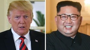 Donald Trump and Kim Jong-un are due to meet tomorrow