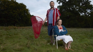 Julian Barratt and Olivia Colman in Flowers