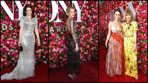 Irish actress Denise Gough joins stars on the Tony Awards red carpet