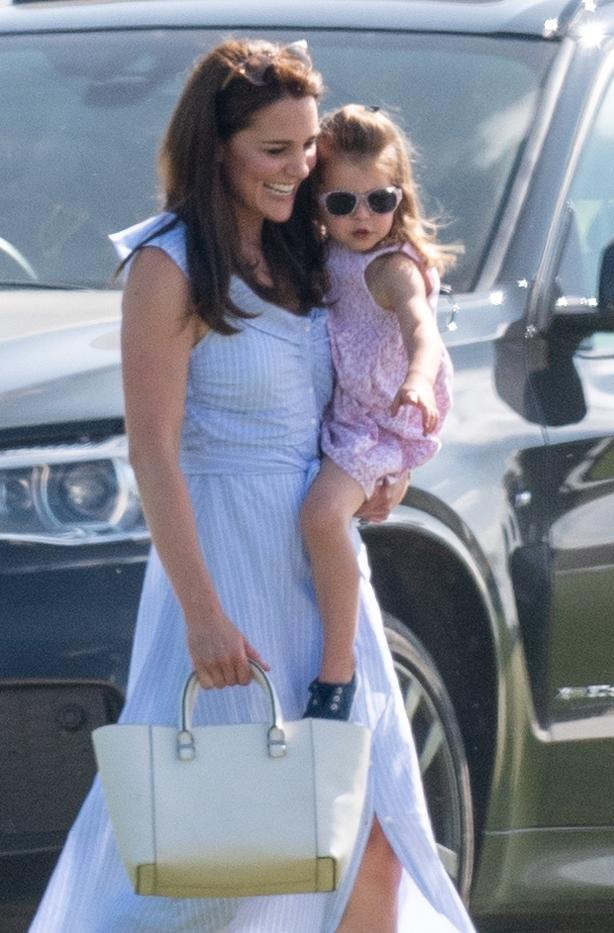 Catherine, Duchess of Cambridge and Princess Charlotte of Cambridge