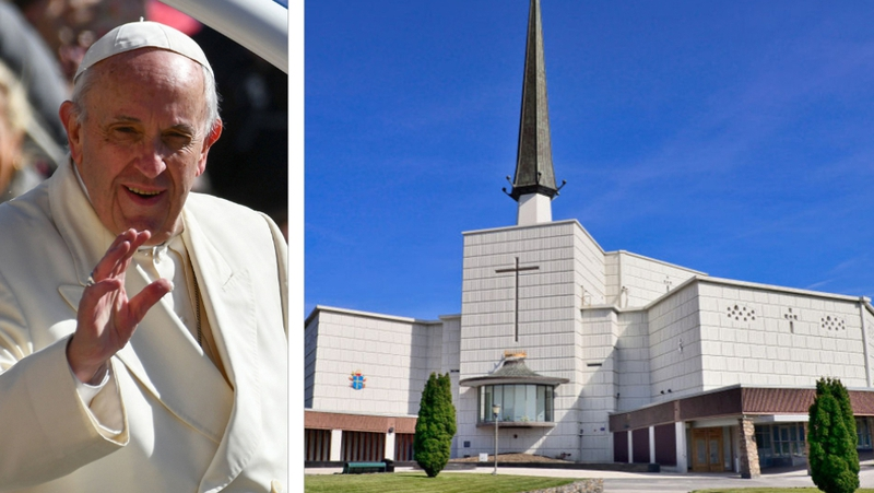 The Vatican announced this morning that Pope Francis will visit Knock Shrine