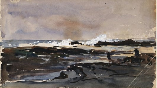 """Through the Canvas: Episode 6  """"Waves Breaking on the Rock's Kilkee""""   The Lyric Feature"""