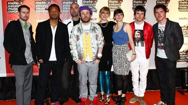 Republic of Loose arrives at the Meteor Ireland Music Awards on March 17, 2009 in Dublin, Ireland