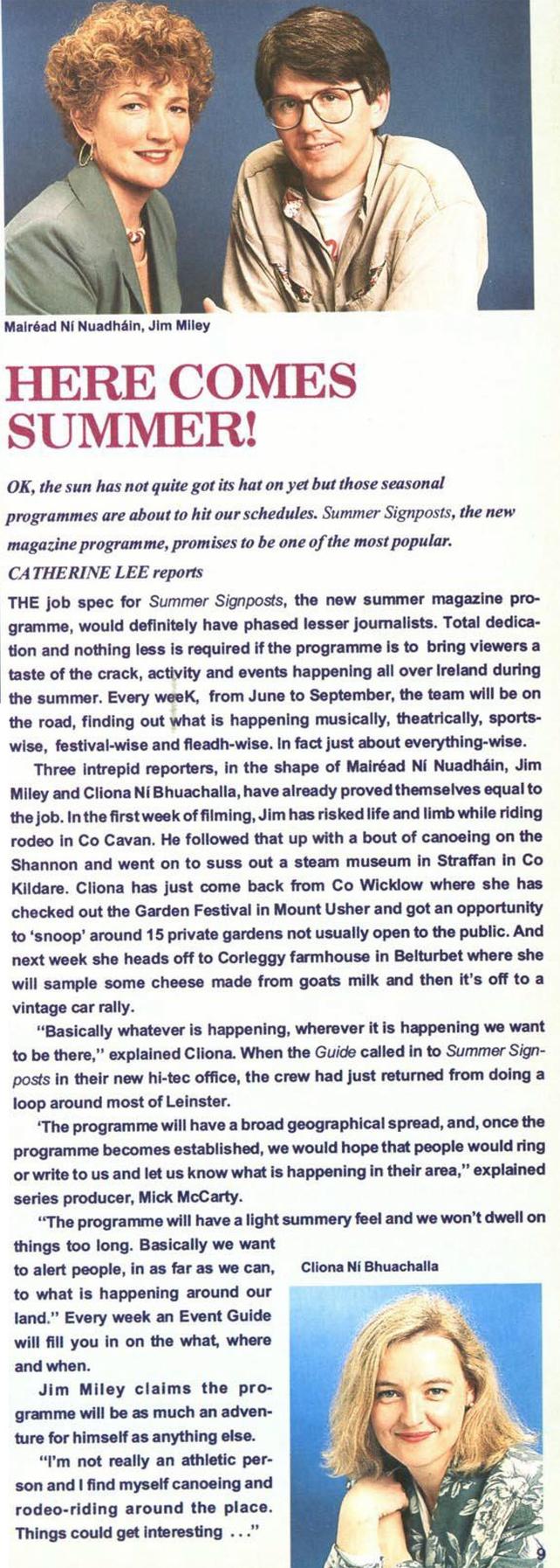 RTÉ Guide 4 June 1993