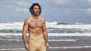 Aidan Turner 'baring up' as Ross Poldark