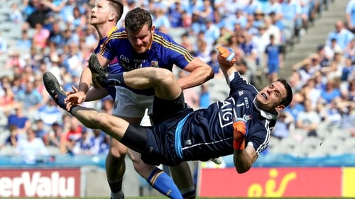 Cluxton was injured following the clash with Longford's James McGivney in the Leinster SFC semi-final