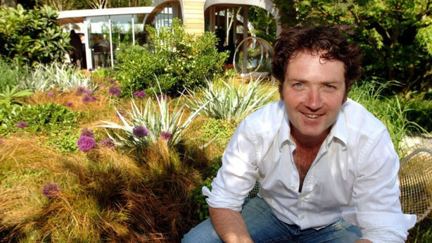 TV presenter and gardener Diarmuid Gavin
